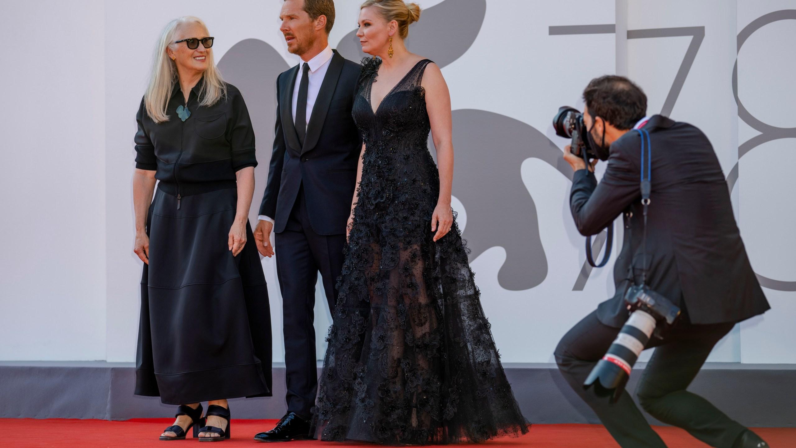 Jane Campion, Benedict Cumberbatch, Kirsten Dunst