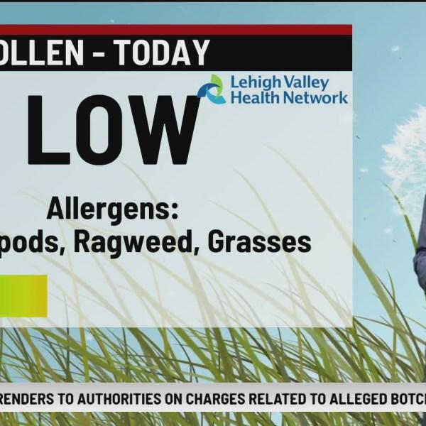 Allergy Alert September 17, 2021